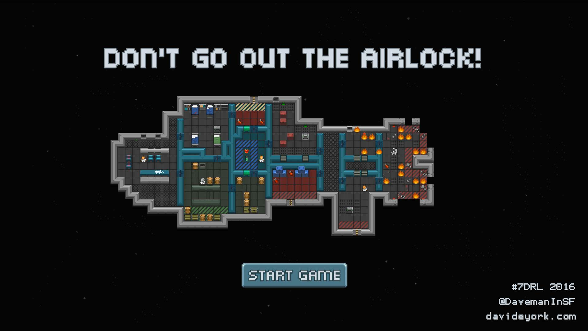 Don't go out the Airlock intro