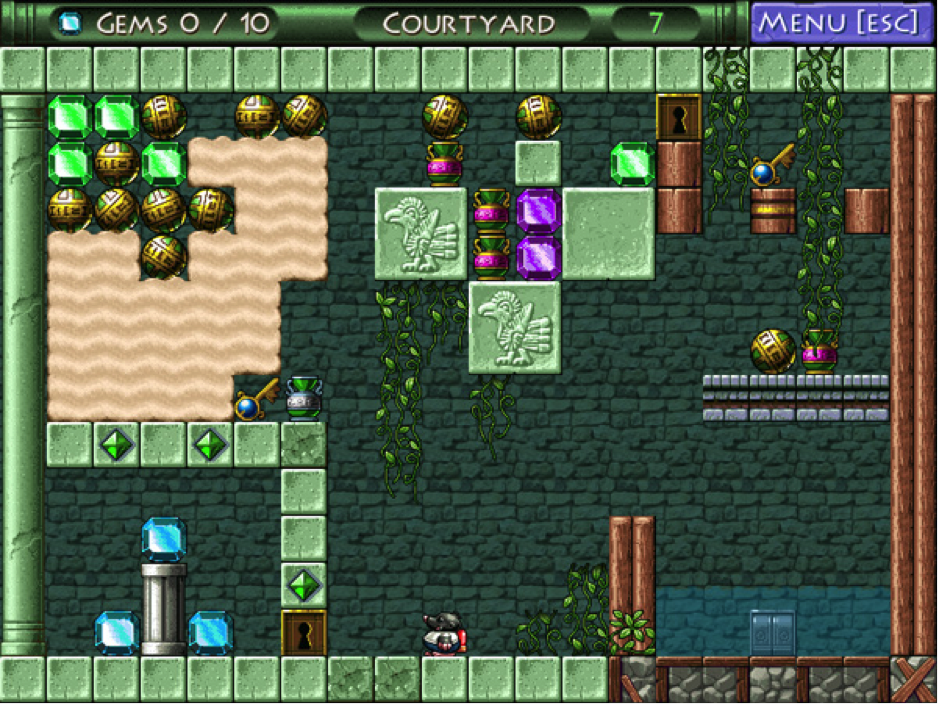 Complex puzzle components keep the player interested